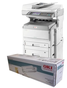 OKI ES8461 consumables supplies, Black, Cyan, Magenta and yellow Toner and Drum cartridges, Fuser Units and Transfer Belts supplied for next day nationwide delivery call 01293 537827 for pricing and availability.