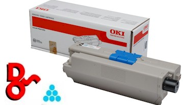 OKI MC332 Cyan (C) 1.5k 44973535 Genuine OKI Toner Cartridge for OKI MC series Printer Cartridge Sales Nationwide next day Delivery