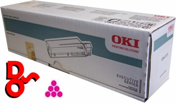 OKI MC760 Magenta (M) 45396302 Genuine OKI Toner Cartridge for OKI MC series Printer Cartridge Sales Nationwide next day Delivery